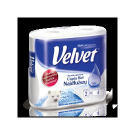 Ręcznik papierowy najdłuższy Velvet 2 rolki