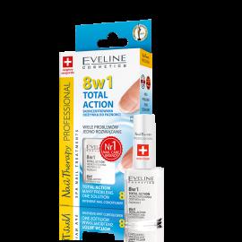 Odżywka do paznokci 8w1 Total Action Eveline