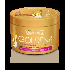 Masło do ciała odżywcze Golden Oils Bielenda