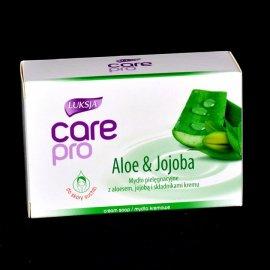 Mydło pielęgnacyjne z Aloesem i Jojobą Care pro Luksja