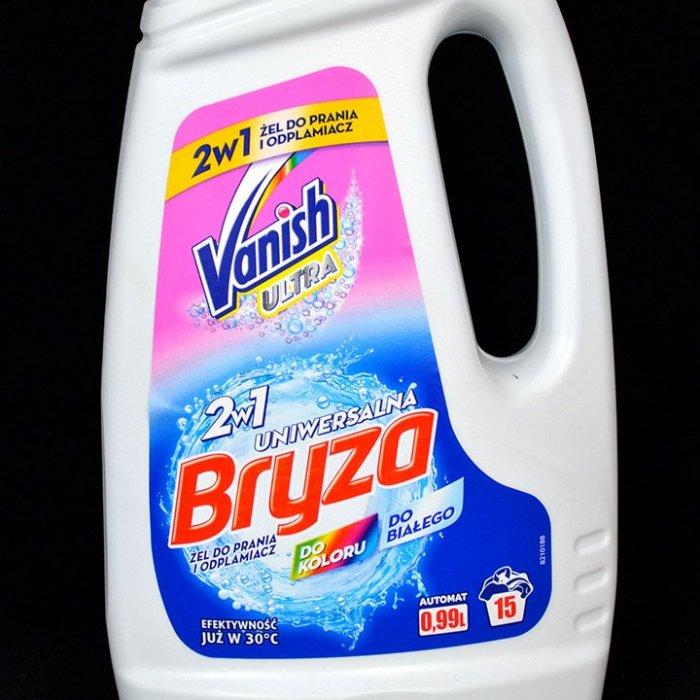 Żel do prania i odplamiacz Bryza Vanish