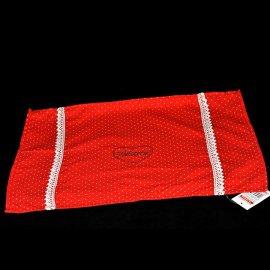 Mata stołowa materiałowa 46*34 Czerwona