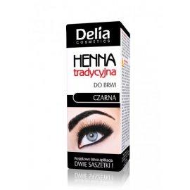 Henna do brwi tradycyjna czarna Delia