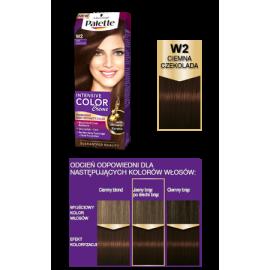 W2 Ciemna Czekolada Intensive Color Creme Palette