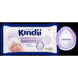 Chusteczki New Baby Care dla noworodków i niemowląt Kindii Cleanic 60