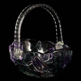Koszyczek 16 Nadine Purple Walther-Glas