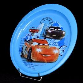Talerz Plastikowy Cars niebieski 20 Disney