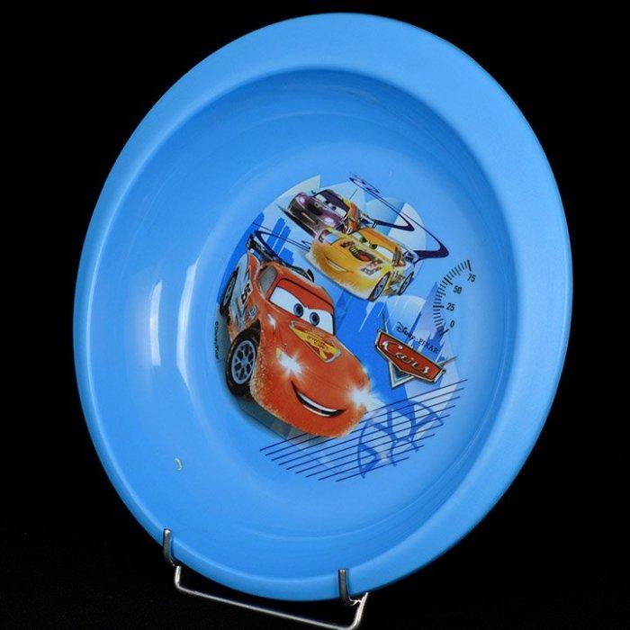Talerz głęboki Plastikowy Cars niebieski 20 Disney