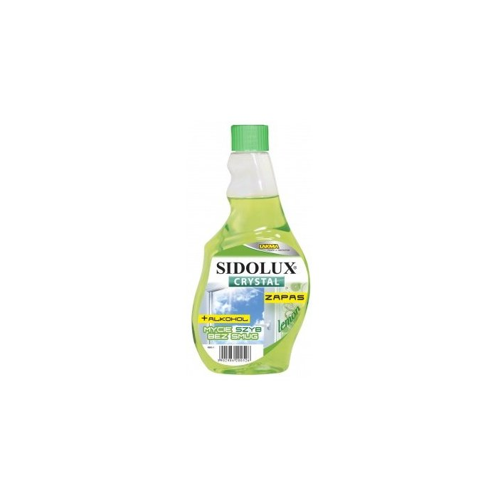 Sidolux Crystal – lemon - zapas 500 ml