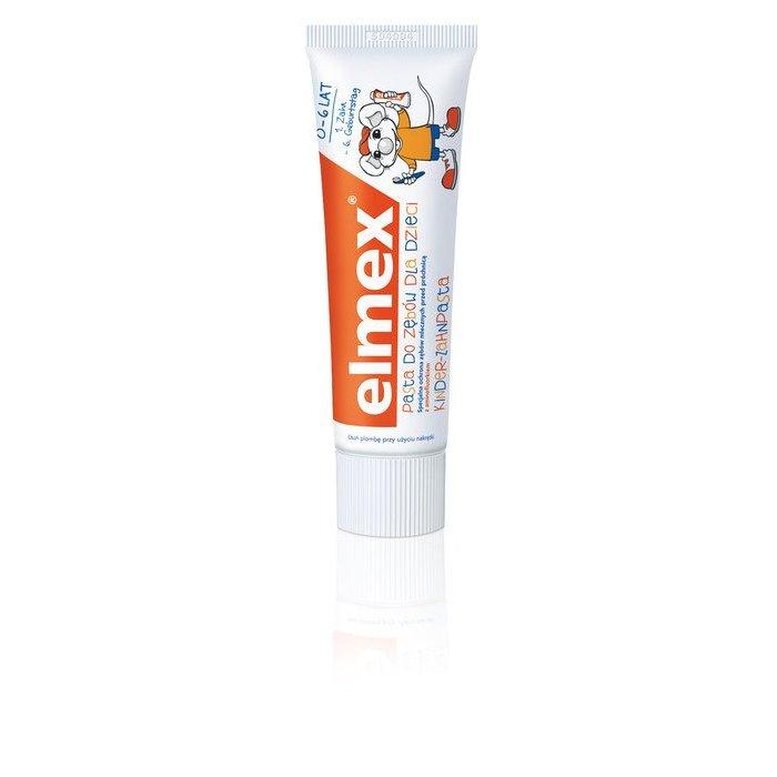 Pasta do zębów elmex Dla dzieci 0-6 LAT