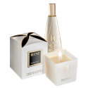 Świeca zapachowa sojowa biała La'amore Jfenzi
