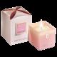Świeca zapachowa sojowa różowa Mon Amie Jfenzi