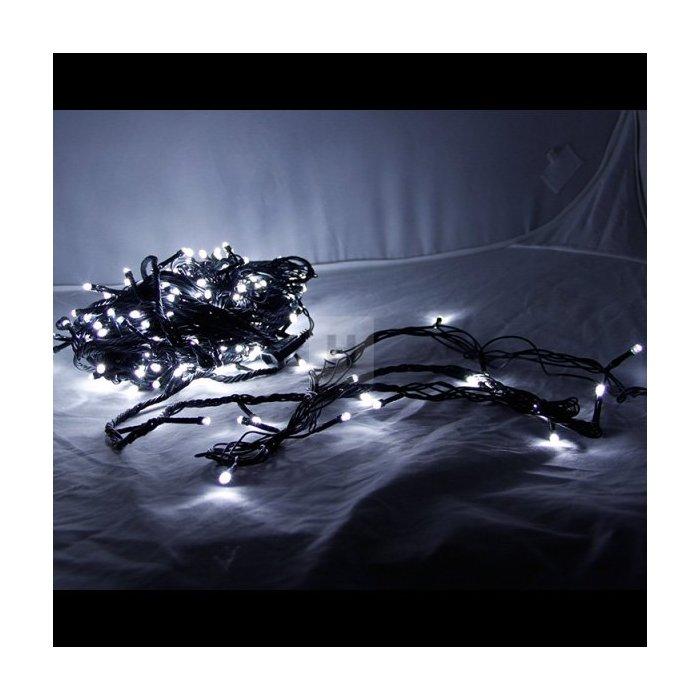 Lampki choinkowe 300 szt. LED Białe Li-8W