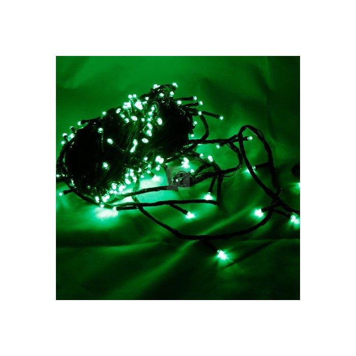 Lampki choinkowe 200 szt. LED Zielony Li-5G