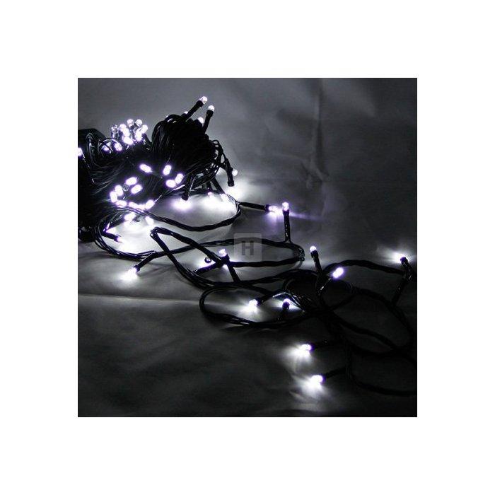 Lampki choinkowe 100 szt. LED Białe efekt Flash Li-44W