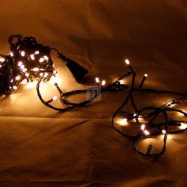 Lampki choinkowe 100 szt LED Ciepła Biel efekt Flash Li-44WW