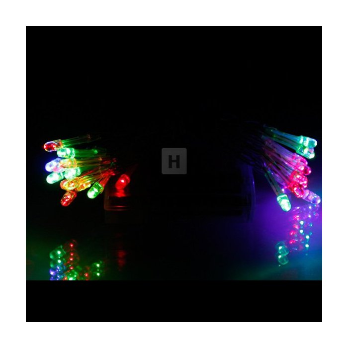 Lampki choinkowe na baterie AA 25 szt LED Multikolor Li-45M