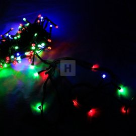 Lampki choinkowe 100 LED multikolor 8m