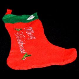 Skarpeta świąteczna na prezenty 40 cm filc