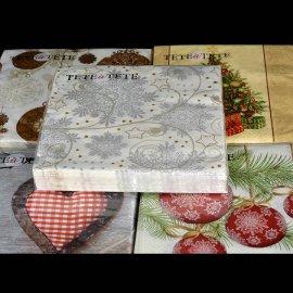 Serwetki papierowe świąteczne 20 szt 33x33