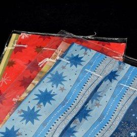 Komplet 2 torebek świątecznych papierowe 15x26,5