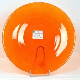Talerz dekoracyjny 31 szklany pomarańcz Inca Bormioli