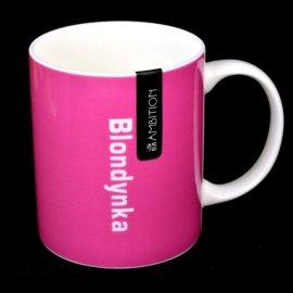 Kubek Blondynka różowy 350 Ambition Happy