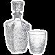 Kpl 7el.Whisky Karafka i szklanki Dedalo Bormioli Rocco