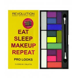 Paleta 15 cieni Eat Sleep Makeup Reapeat Makeup Revolution