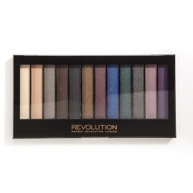 Paleta 12 cieni Hot Smoked Makeup Revolution