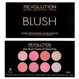 8 róży/bronzerów do policzków All About Pink Revolution