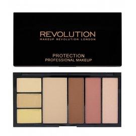 Paleta Konturowanie twarzy Protection Light Makeup Revolution