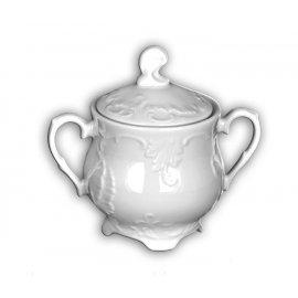 Cukiernica biała Rococo 400ml Ćmielów III