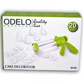Dekorator do ciasta 19 końcówek Odelo