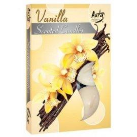 Podgrzewacz zapachowy Wanilia Tealight 6szt Bispol