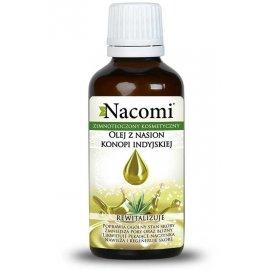 Naturalny Olej z Nasion Konopi Indyjskiej 30 ml Nacomi