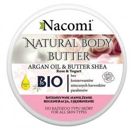 Naturalny Masło Shea - Róża Argan Jogurt 100ml Nacomi