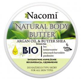 Naturalne Masło Shea - Argan o zap. Zielonej Herbaty 100ml Nacomi