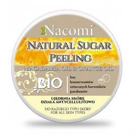 Naturalny Peeling cukrowy pomarańcza macadamia 100ml Nacomi