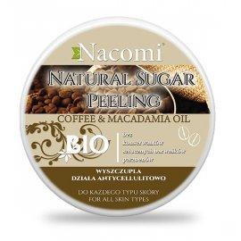 Naturalny Peeling Kawa Macadamia z masłem shea 100ml Nacomi