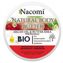 Balsam z masłem Shea o zapachu poziomki 100ml Nacomi