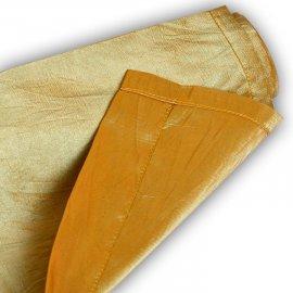 Bieżnik Tafta Złoty/niebieski 180x45