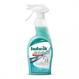 Mleczko do czyszczenia łazienki spray Ludwik 750ml