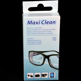 Chusteczki do czyszczenia okularów bez smug 10szt O'linear