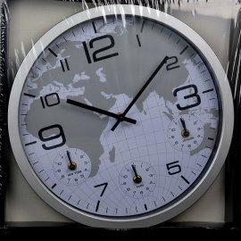 Zegar ścienny światowy 4w1 35cm