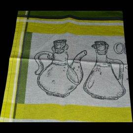 Dekoracyjna ścierka kuchenna 50x70 zielona