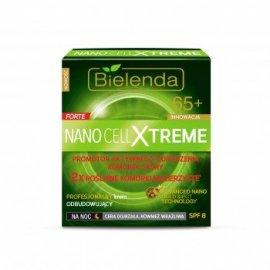 Nano Cell Xtreme Krem odbudowujący 65+ na noc Bielenda