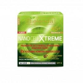 Nano Cell Xtreme Krem przeciwzmarszczkowy 45+ na dzień Bielenda