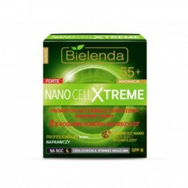 Nano Cell Xtreme Krem naprawczy 55+  na noc Bielenda