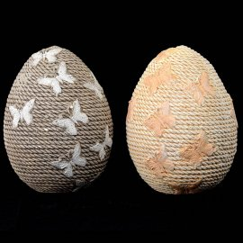 Gipsowe jajko pisanka figurka 16cm